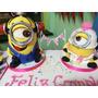 Tortas Artesanales - Minnion Bombero