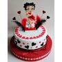 Torta Cumpleaños,adultos,infantiles De 2 Kg + 16 Cupcakes