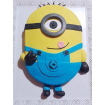 Tortas Decoradas Minion Infantiles Personalizadas Cumpleaños