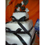 Bodas/15 Años Torta Blanco/negro (colores A Eleccion)