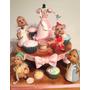Tortas Artesanales - Modelo Torta Y Cupcakes Cenicienta