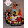 Tortas Artesanales - Mickey Y Pluto De Cumpleaños!