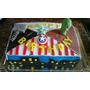 Tortas Futbol Sonic Superheroes. Mesa Dulce. Cupcakes