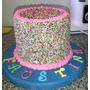 Rainbow Cake (torta Arco Iris) Casera Y Artesanal