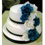 Tortas Decoradas 15 Años-bodas-bautismos-comunion