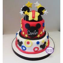 Torta Mickey - Ideal Para Cumpleaños Infantiles