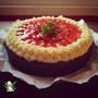 Torta Vegana De Chocolate Y Frutillas - Libre De Lactosa!