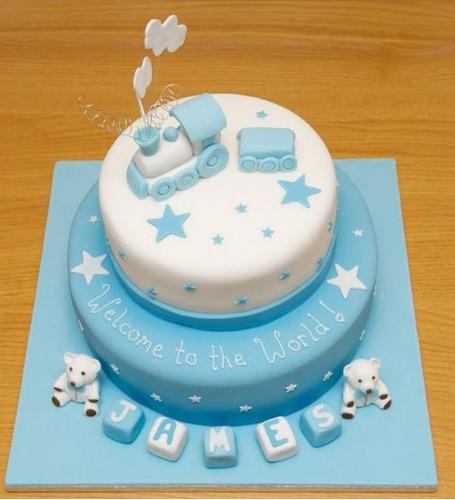 Decoraciónes para tortas de baby shower - Imagui