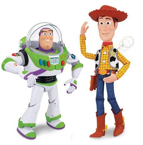 Toy Story Disney Muñeco Buzz Y Woody Que Hablan Entre Ellos! - $ 4 ...