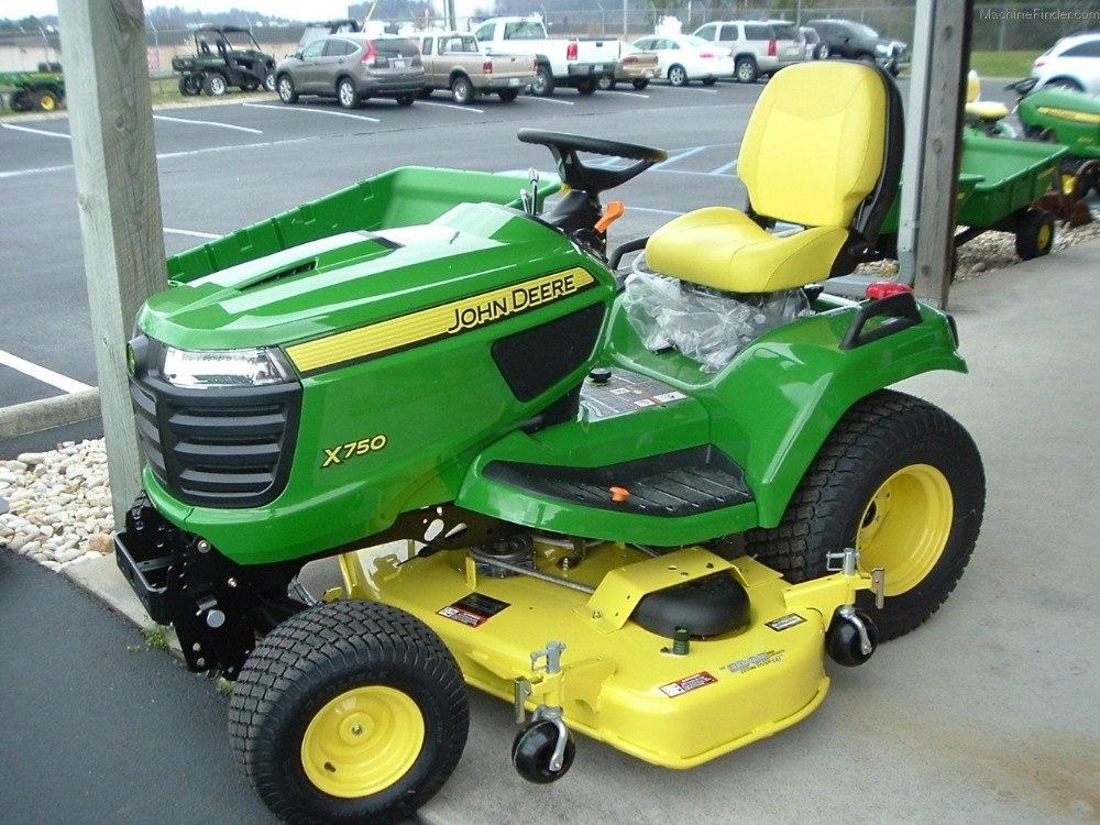 Tractor john deere x750 12 cuotas en mercado libre - Precios de cortacesped ...
