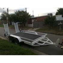 Trailers Iron Rami Para Bobcat, Auto Elevadores, Mulitas