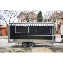 Trailer Gastronómico 5mts, Street Food, Food Truck