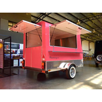 Food Trailer Trailer Gastronomico Food Truck Patentable !