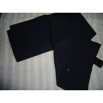Pantalon De Vestir Gonzales Garantia En Casimires-color Oscu
