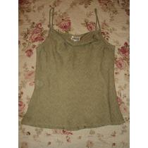 Conjunto De Blusa Y Pantalón De Poliéster Verde Claro