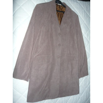 Saco De Vestir Para Dama Seda Aterciopelada Talle 42 / M