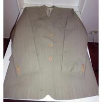 Traje De Vestir Hombre Saco Forrado Y Pantalon Talle 44