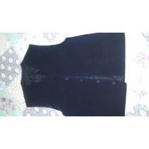 Chaleco De Vestir Azul O Negro Permuto Poco Uso