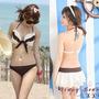 Trikini Bikini Marfil Importado 3 Piezas Mas Regalo!!