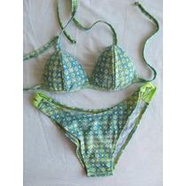 Malla Con Triangulito Armado Y Bikini.