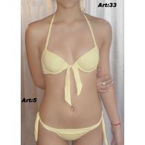 Bikini Soft 2013 Lycra Pura Anticloro C/vedetina Toda Forrad