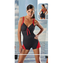 Malla Deportiva Anticloro Comb C/pierna Art 046 Marymar