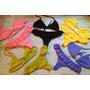 Bikini Triangulito Cola Less Volado 2016 Colores Exc Calidad