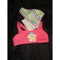 Malla Traje De Baño 2 Bikini Piezas Niñas Talle 4