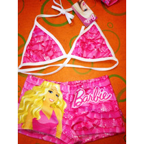 Malla Y Bikini Barbie Y Monster High Muchos Modelos Y Talles