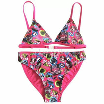 Traje De Bano Importado Bikini Monter High Talle 6/7
