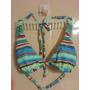 Miro-sol-original Bikini Dos Piezas En Celestes Talle 90-95