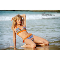 Bikini Lody, Triangulito Y Less. Talle 95 En Stock