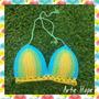 Ultima Moda! Bikini Tejida A Crochet Con Push Up!