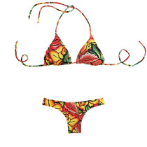Bikini Triángulo Soft Desm. Y Media Cola Marbella Luz De Mar