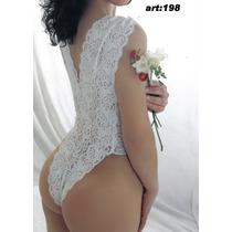 Body Sexi Lenceria Puntilla De Lycra Estilizador Y Elegante