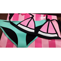 Victoria´s Secret Bikini Set Original Top + Bottom Neopren