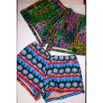 Shorts De Baño Lycra Forrados Malla