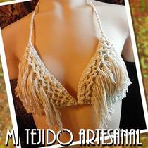 Bikini Tejida Al Crochet Tipo Marilyn