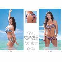 Bikini Cocot Taza Soft Y Vedetina Flores. Talle 85 En Stock