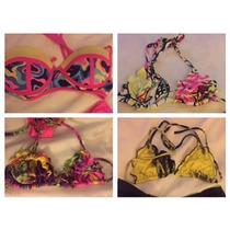 Mallas Brasileras Bikinis Excelente Lycra Corpiños/bombachas
