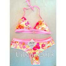 Bikini Estampada Con Vivos Divina!!!