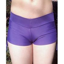 Short Bikini Lycra Todo Forrado Fruncidora Talles Grandes