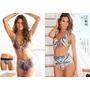 Liquidacion!!! Bikini Tiro Alto Estampada Marca Andressa