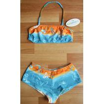 Ensport Bikini Multicolor Bandó Con Culote... T: 2.. Divina!