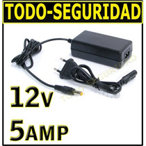 Fuente Switching 12v 5a Regulada P/ Luz Tira Led Camara Cctv