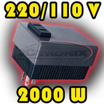 Transformador Electronico 220 / 110 V 2000w Carga Resistiva