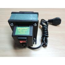 Transformador 220 - 110v 500va 3 Tomas