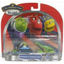 Chuggington Set De 2 Vagones Dinosaur & Camera Cars