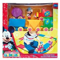 Tren Mickey Choo Choo Train Set