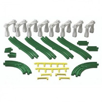 Geotrax - Set Vias Elevadas Pack Rampas Fisher Price